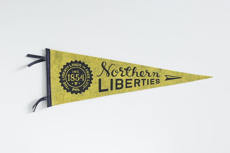 Eastern Standard Co Pennants by Melissa McFeeters