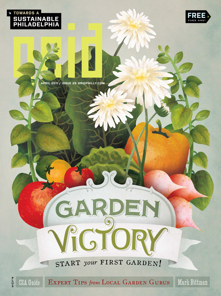 Garden Victory cover illustration