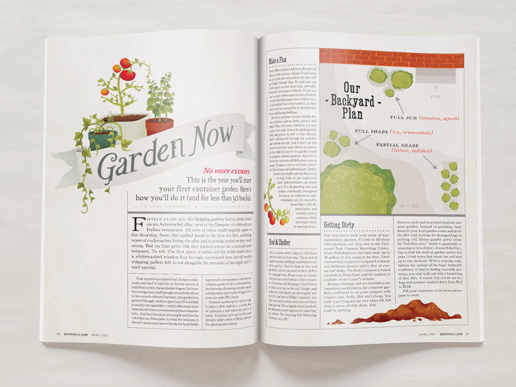 gardening intro spread
