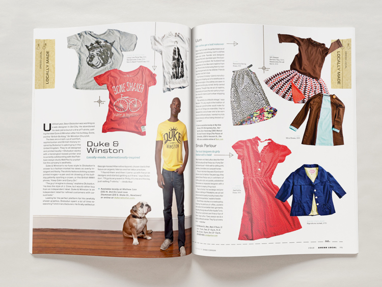 Fashion Issue - Layout - Melissa McFeeters