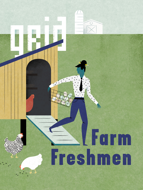 Farm Freshmen - Melissa McFeeters Illustration & Graphic Design