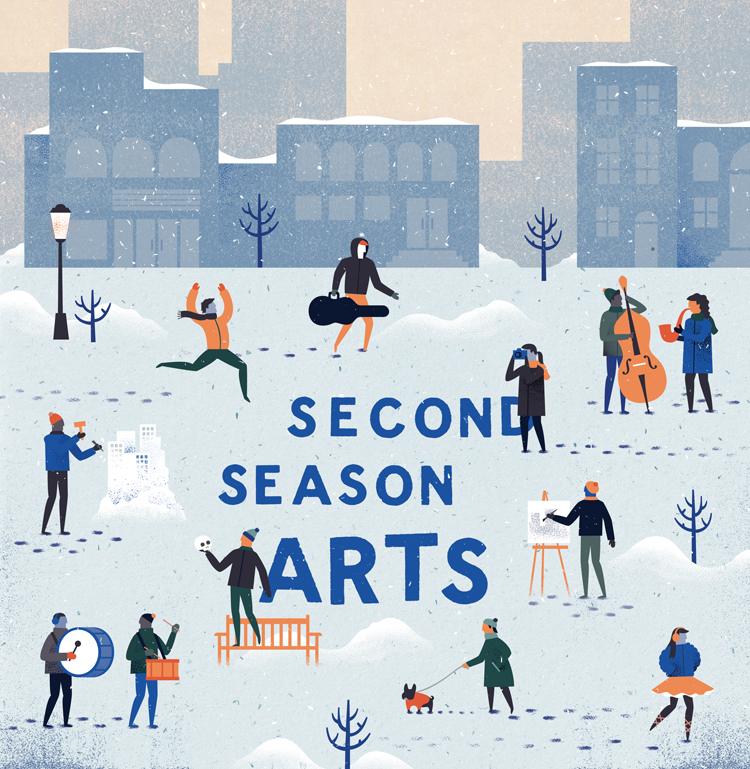 Second Season Arts - Melissa McFeeters Illustration & Graphic Design