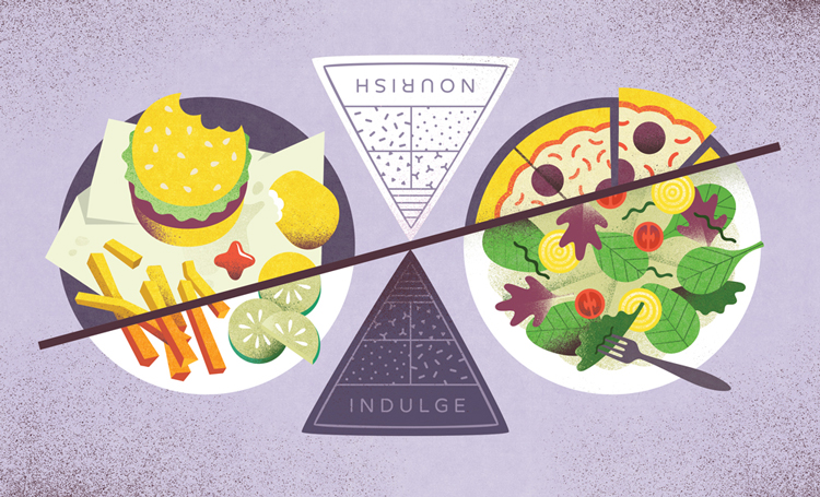 Food Choices - Melissa McFeeters Illustration