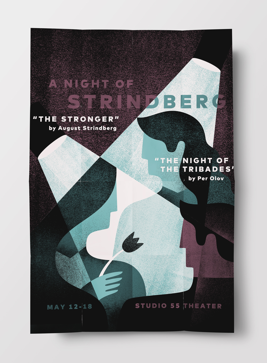 Melissa McFeeters - A Night of Strindberg poster