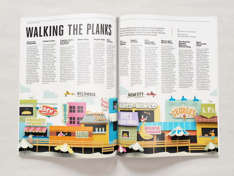 Melissa McFeeters - Boardwalk spread
