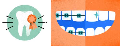 Melissa McFeeters - Teeth spot illustrations