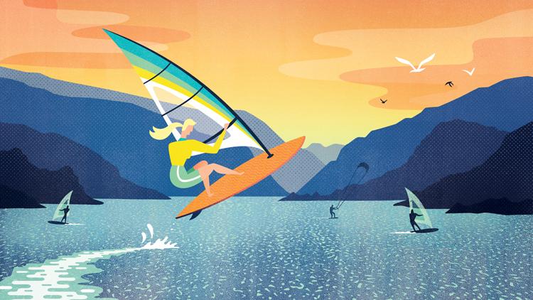 Melissa McFeeters - Windsurfing